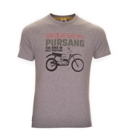 Bultaco T-shirt BT 01101005 gray mottled