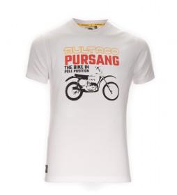 Bultaco T-shirt BT 01101005 white