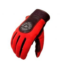 Bultaco Red Speedometer gloves