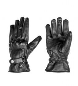 By City Elegant Man black leather gloves