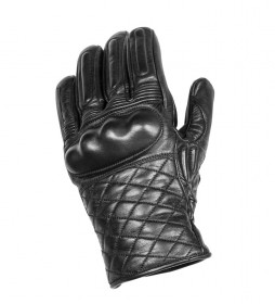 By City Leather gloves II black leather