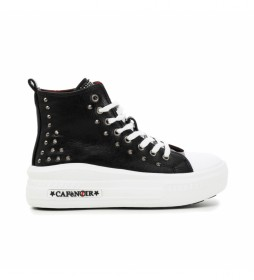 Zapatillas Allacciata negro -Altura plataforma: 5cm-