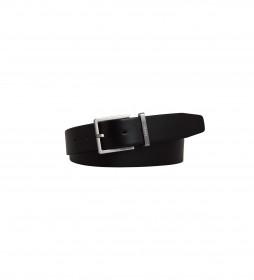 Cinturón de piel K50K504301 negro