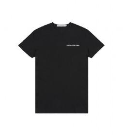 Camiseta Chest Institutional Slim negro