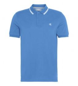 Polo Essential Picking azul