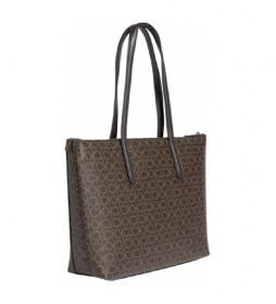 Bolso Must Shopper MD Mono marrón -8x28x35cm-