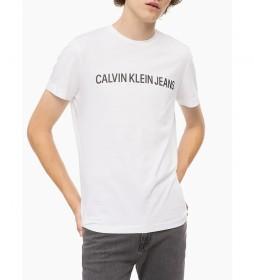 Camiseta Core  Institutional Logo Slim blanco