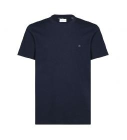 Camiseta Algodón Logo Embroidery marino
