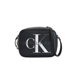 Bandolera K60K608376 negro -13x18x7cm-