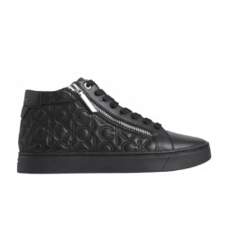 Zapatillas de piel Cupsole negro