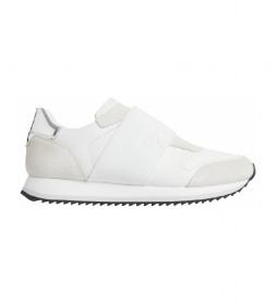 Zapatillas de piel Elastic Runner blanco