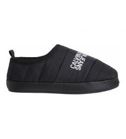 Zapatillas de Casa W Warm Lining negro