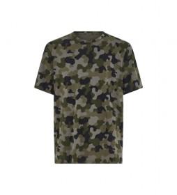 Camiseta Lounge - Galvanized verde militar