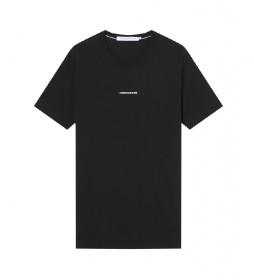 Camiseta Micro Branding Essentials negro