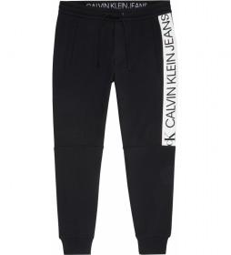 Pantalón Mirror Logo negro