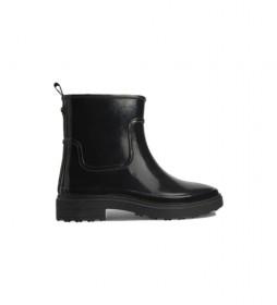 Botines Rain HW0HW00606 negro