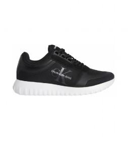 Zapatillas Runner Laceup YW0YW00466 negro