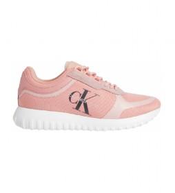 Zapatillas Runner Laceup YW0YW00466 rosa