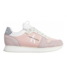 Zapatillas Runner Laceup YW0YW00462 rosa
