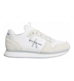 Zapatillas Runner Laceup YW0YW00462 blanco