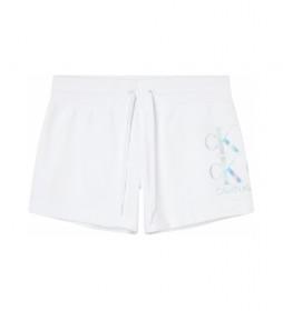 Shorts Logo J20J215559 blanco