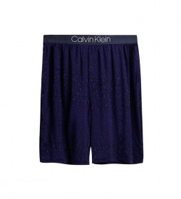 Shorts de Pijama Ultra Soft Modal azul
