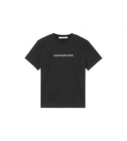 Camiseta Shrunken Institutional J20J215322 negro