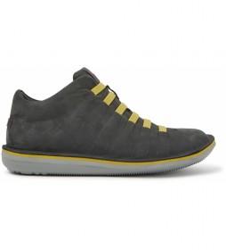 Zapatillas de piel Beetle gris