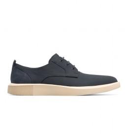 Zapatos de piel Bill gris