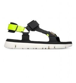 Sandalias de piel Oruga negro