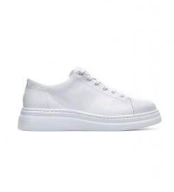 Zapatillas  de piel K200508 blanco