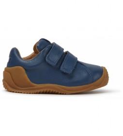 Zapatillas de piel Dadda FW marino