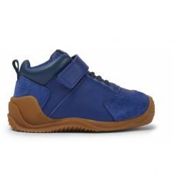 Zapatillas de piel Dadda FW azul