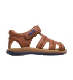 Sandalias de piel Bicho 80372 marrón