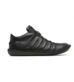 Zapatillas de piel Beetle negro