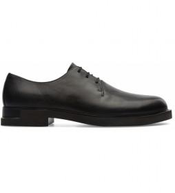 Zapatos de piel Iman negro