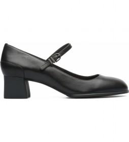 Zapatos de piel Katie negro -Altura tacón: 5,1cm-