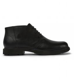Zapatos de piel Neuman negro