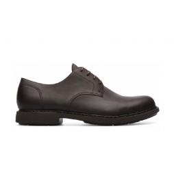 Zapatos de piel Neuman marrón