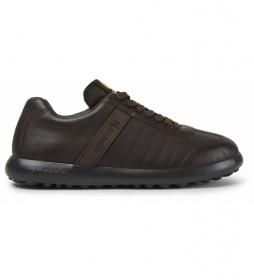 Zapatillas de piel Pelotas XLite marrón
