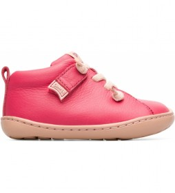 Botines de piel Peu Cami FW rosa