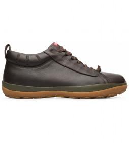 Zapatillas de piel Peu Pista GM marrón