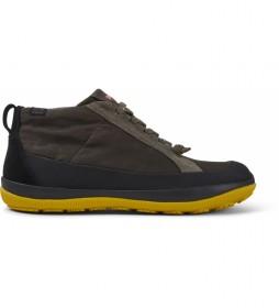 Zapatos de piel Peu Pista verde