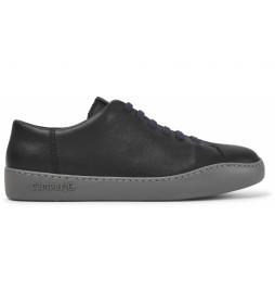 Zapatillas de piel Peu Touring negro, gris