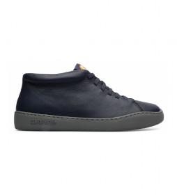 Zapatillas abotinadas de piel Peu Touring azul