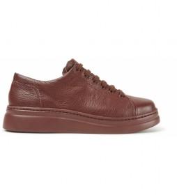 Zapatos de piel Runner Up marrón