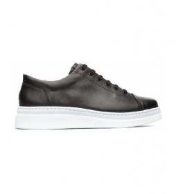 Zapatillas de piel Runner Up negro
