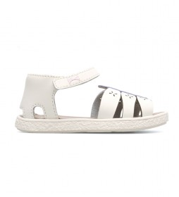 Sandalias de piel Twins beige701781