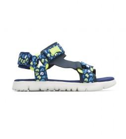 Sandalias Laundry azul