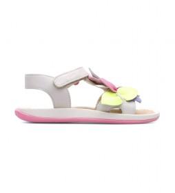 Sandalias de piel Twins K800334 beige